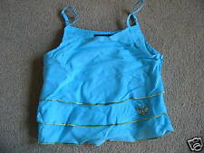 BNWT MEXX Blue Tiered Strappy Top 2 Years 92cms