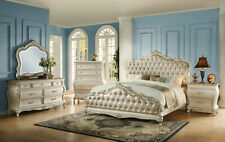 Acme Furniture Chantelle Queen Pearl 6 Piece Bedroom Set 23540Q