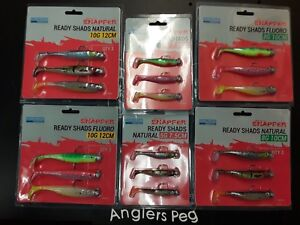 Korum Snapper Ready Shads Loaded Rubber Shads