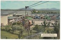 Butlins Pwllheli, Rope Railway & Skating Rink Postcard B852