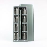 48 Bit Precision Tool Kit - Magnetic Bits - Micro/Standard Screwdriver - w/ Case