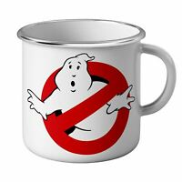 Mug Emaillé Métal Ghostbusters Logo No Ghost Allowed