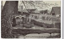 Dorset; The Wishing Well & Church, Upwey PPC, 1932 Weymouth PMK