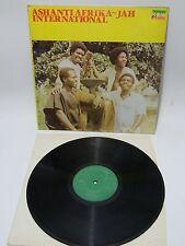 LP  Ashanti Afrika  - Jah International Nigerphone – NXLP 005 Highlife 1981