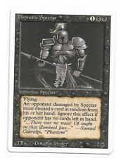 Magic The Gathering ~ 1x Hypnotic Specter ~ REVISED ~ MP
