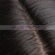 "Full Lace Wig with 6""x6"" Silk Top Indian Remy Human Hair 18"" 45cm Can be Dyed"