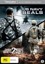 Green Berets - Two Weeks In Hell / US Navy Seals (DVD, 2012, 2-Disc Set) New