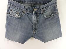 Vintage Denim Shorts cotton Blue size w32 Grade B M333