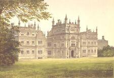 CORSHAM COURT, Corsham, Wiltshire (Lord Methuen) 1890 old antique print