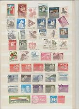 SWEDEN,  47 DIFFERENT USED  STAMPS 7