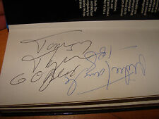 1985 Chicago Bears Tom Thayer & Mike Tomczak autographs London Guide 1986