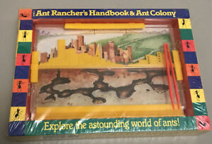The ANT Ranchers Handbook & Ant Colony Book