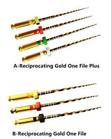 Dental Endodontic Niti Rotary Files Reciprocating Gold One File 21/25 Endo Motor