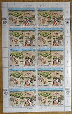UNO Wien 56 - 59 ** Zd Bogen postfrisch 10 x VB Vereinte Nationen Full sheet MNH