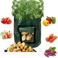 Potato Bags Tomato Veg Durable Re-Usable Balcony Patio Planters Grow Bag10Gallon