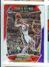 MARC GASOL 2015 16  PANINI PRIZM PRISM REFRACTOR HOLO RED WHITE BLUE #379