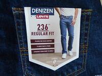 DENIZEN from Levi's 236 Regular Fit Jeans Mens - NEW