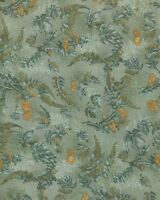 Hoffman Fabric, Nature's Elements, Yellow Dandelions on Light Green, by/yd
