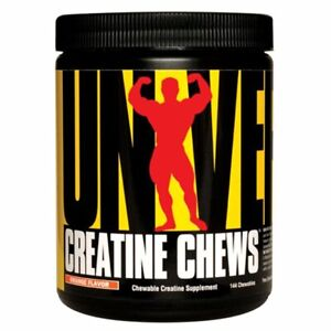 Universal Nutrition Creatine Chews Orange Flavor, 144 Chewables