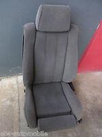 Tessuto Originale Sedile Sportivo Conducente BMW E34 Ant. SX Grigio Antracite