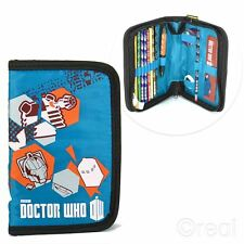 Nuevo médico que Estuche lleno de 13 piezas de regreso a la escuela Tardis Dalek Oficial