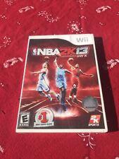 NBA 2K13 (Nintendo Wii, 2012) sealed new basketball sports video game