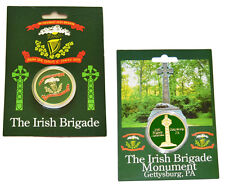 American Civil War Union Irish Brigade Collectors Coins Set Full Colour & Carded