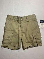 NWT Polo Ralph Lauren Boys Cotton Chino Cargo Shorts Khaki Size 2T