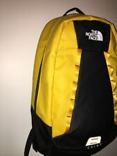 The North Face Base Camp Crimp Backpack Daypack NorthFace Yellow Laptop Travel