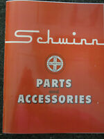 a+ 1950's SCHWINN Parts and Accessories CATALOG REPRINT ORIGINAL Bicycle Dealer