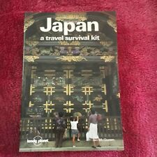 LONELY PLANET. JAPAN A TRAVEL SURVIVAL KIT. 0908086709