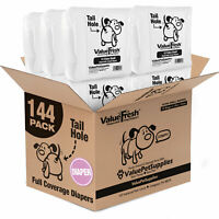 ValueFresh Disposable Diapers for Female Dogs, X-Small, 144 Count