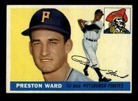 1955 Topps Baseball #95 Preston Ward (Pirates) EXMT