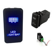Push Switch Blue LED Light Bar For Toyota Highlander Tacoma LED LIGHT BAR