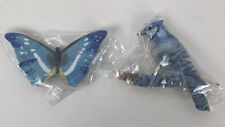 Lot of 2 Marjolein Bastin Magnets for Hallmark Blue Bird And Butterfly NEW
