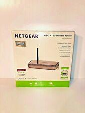Netgear G54/N150 150 Mbps 4-Port 10/100 Wireless N Router (WNR1000) - New in Box