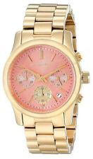 Michael Kors Runway Pink Dial Stainless Steel Ladies Watch MK6161