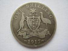 Australia 1917-M Shilling Fair