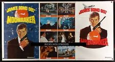 Original 1979 MOONRAKER One Stop Subway Advance 41x77 TRI FOLD NO CENTER FOLD