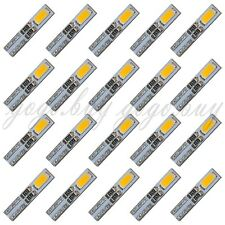 20 x Warm White 58 70 73 74 T5 Dashboard Gauge 2 5630 SMD LED Wedge Bulb Light