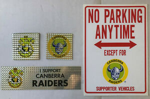 1990's CANBERRA RAIDERS Stickers & Cards