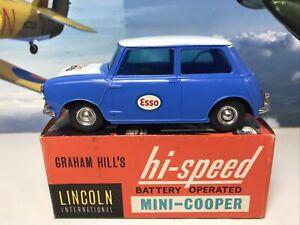 LINCOLN INTERNATIONAL  'GRAHAM HILL'S' MINI COOPER No-5981