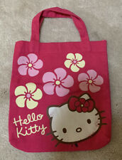 HELLO KITTY GIRLS PINK TOTE BAG