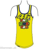 VR46 Valentino Rossi Moto GP Tank top Casual LADIES Top yellow 500/VRWTT205601