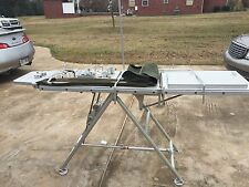 BRENNER PORTABLE OPERATING TABLE MILITARY WITH CASE stainless aluminum