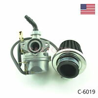 Carburetor W/ Filter 50 110 125cc Dirt Bike ATV Go Kart Coolster Sunl Taotao  e3