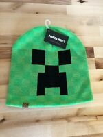 JINX Minecraft Creeper Face Knit Beanie Unisex Winter Hat Cap New With Tags