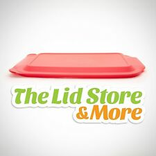 """Pyrex Storage Plastic Red Lid - Replacement Cover For 4-Qt (10"""" x 15"""") - 234-Pc"""