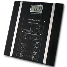 Digital Body Fat Analyser Scales BMI Healthy Weighing Scale Weight Loss 150KG