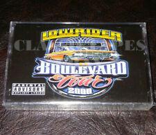 Lowrider Boulevard Tour 2000 OG Latin Hip Hop Rap Cassette Tape Album New Sealed